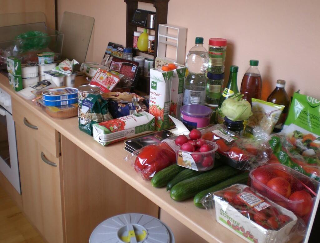 KW 29 - Einkauf der Woche - Paleo-Diät Einkaufsliste bei ALDI - Übersicht